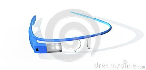google-glass-interactive-glasses-blue-color-resting-white-floor-32722539